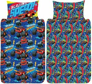 Blaze and The Monster Machines Junior Cot Duvet Cover Speed Blazing Design Set