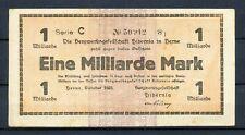 Herne - Bergwerksgesellschaft Hibernia - 1 Milliarde Mark - Serie C