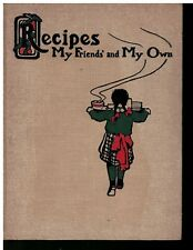 1904 Arts & Crafts Style Hardcover Cookbook to hold your recepies