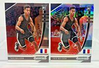 Theo Maledon 2 Card ROOKIE Lot Silver Prizm & Base 2020 Panini Prizm Draft Picks