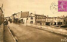 Carte MARANS Rue d'Aligre du Pont sur la Sèvre Niortaise