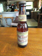 Vintage 1940's 50's Ox Head 7 Oz Beer Bottle Rochester Brew Co Rochester NY