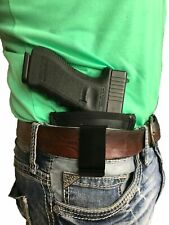 Concealed Carry IWB Black Leather Gun holster For HI-POINT C-9 CF-380