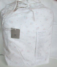 RACHEL ASHWELL COUTURE California King Fitted Sheet PINK FLORAL Shabby Chic