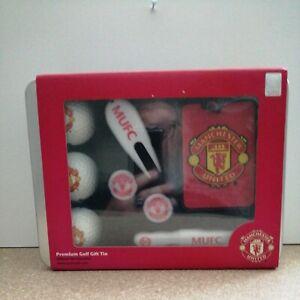 Manchester United Premium Golf Gift Tin Open Box
