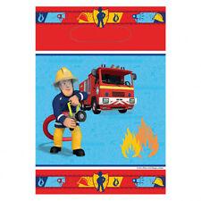 Amscan - 998155 - 8 Sacs de Fête Sam le Pompier