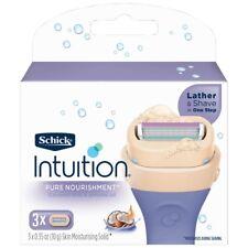 Schick Intuition Nourishment Blades 3 Pack