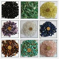100g Natural Crystal Quartz Stone Rock Gravel Gem Chips Healing Aquarium Mineral