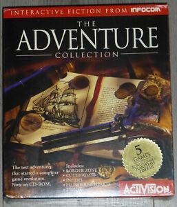 The Adventure Collection. Infocom. PC and Macinotsh. Big Box. New