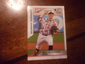 2019 DELMARVA SHOREBIRDS Single Cards with UPDATE YOU PICK FROM LIST $1-$4 each