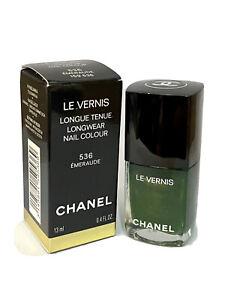 CHANEL Nail Colour Polish - 536 Emeraude  Le Vernis new in box