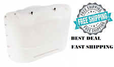 RV Propane Gas Tank Cover Polar White Supplies Motor Home Part Camper Trailer