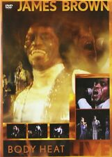 James Brown - Body Heat Live (DVD, 2007) FREE SHIPPING