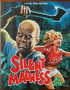 SILENT MADNESS, Vinegar Syndrome title, New & Sealed with Slipcover - 2 Disc Set