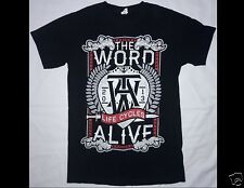 The Word Alive Life Cycles 2013 Size Junior Medium Black T-Shirt