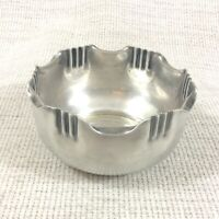 Antique French Silver Plated Bowl Sweetmeat Dish Nuts Candy Art Nouveau