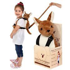 Pipsy Koala Kenny Canguro Infantil Mochila De Seguridad Bolsa Harness & Rein-Brown
