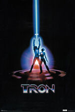Tron (1982) Jeff Bridges Kevin Flynn Sci-Fi Original Style 24x36 Movie Poster