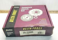 NEW DELTA FORCE CLUTCH KIT FOR 1985-1999 TOYOTA TERCEL MR2 PASEO 20-22005