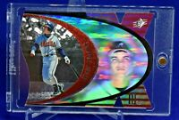 CHIPPER JONES SPX DIE CUT HOLO ATLANTA BRAVES LEGEND HOF SP