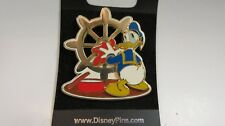 Walt Disney 2002 Donald Duck Sailor Cruise Line Pin / Cleaning Gold Ship Wheel