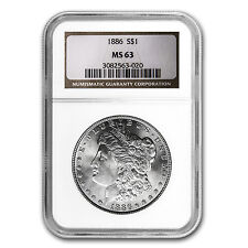 1886 Morgan Dollar MS-63 NGC - SKU #4595