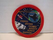 """NASA Mission STS-77 PATCH Embroidered 3"""" Space Shuttle SPACEHAB  Arm Hat"""