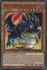 Yu-Gi-Oh! Dragon Toon aux Yeux Rouges : SHVI-FR036 Super Rare VF Français 1st