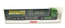 Wiking 1:87   Iveco EuroStar GPL-Sattelzug / Spedition Hackenberg Remscheid