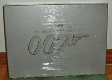 JAMES BOND 007-ULTIMATE EDITION COLECCIONISTA-20 PELICULAS-40 DISCS DVD-NEU