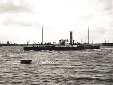 GN 170 PHOTOGRAPH IPSWICH MARITIME SCENE WITH PADDLE STEAMER NORFOLK