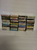 Vintage Cassette Tape Music LOT of 50 Various Rock County Oldies And Others