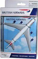 DARON REALTOY RT6004 British Airways Boeing 747 1:500 Diecast, with stand. New