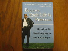MOHAMMED  ODEH  AL-REHAIEF  Signed Book (JESSICA LYNCH-2003 1st Edition Hardback