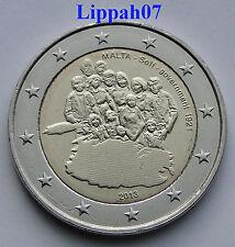 Malta speciale 2 euro 2013 Zelfbestuur UNC