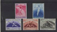 SAN MARINO SET OF 5 MINT/NH SET/PART SET SPORTS