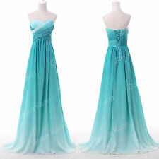 Long Prom Dresses Formal Evening Gown Party Bridesmaid Semi Cocktail Dress 2-16