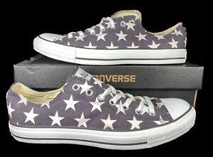Converse Chuck Taylor All Star Ox Sneaker Distressed Black Stars 136613F 11 Men