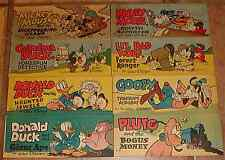 WHEATIES CEREAL PREMIUM MINI GIVEAWAY PROMO SET A MICKEY MOUSE 1 2 3 4 5 6 7 8 a