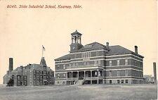 Nebraska postcard Kearney State Industrial School 1912