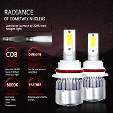 2PCS 9004 HB1 LED Headlight 72W 7200LM Conversion Light Bulbs White 6000K Car