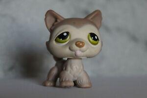 AUTHENTIC Littlest Pet Shop Cute Husky Dog 2006 #358