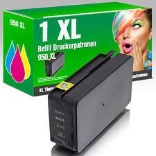 1 für HP 950XL bk OfficeJet Pro 8100 ePrinter 8600 Plus Premium e-All-in-One