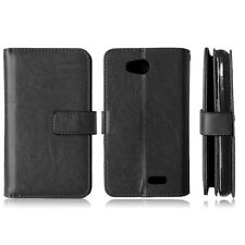 Flip Magnetic Cover Stand Card Wallet Leather Case For LG HTC MOTO Sony Nokia