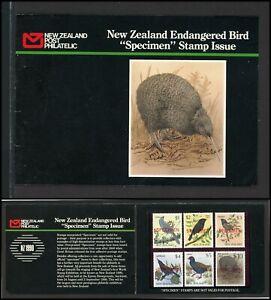 New Zealand Scott #768//932 MNH BOOKLET SPECIMEN Endangered Birds FAUNA $$