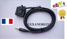 Cable adaptateur auxiliaire mp3 pour autoradio Seat Toledo MED2 MFD2 RNS RNS2