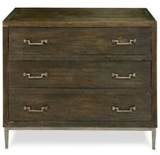 "40"" w Owen Chest of drawer mango old stain brushed iron 3 hand made"