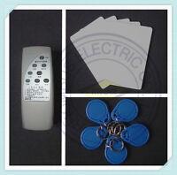 Handheld 125Khz RFID EM Card Reader Copier Writer Duplicator + 5 Cards 5 Keyfobs