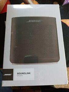 Bose Soundlink Color bluetooth speaker II BLACK sealed brand new