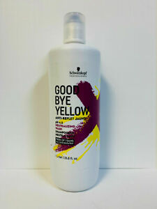 Schwarzkopf GoodBye Yellow Anti-Reflet Jaune Shampoo, 33.8 oz